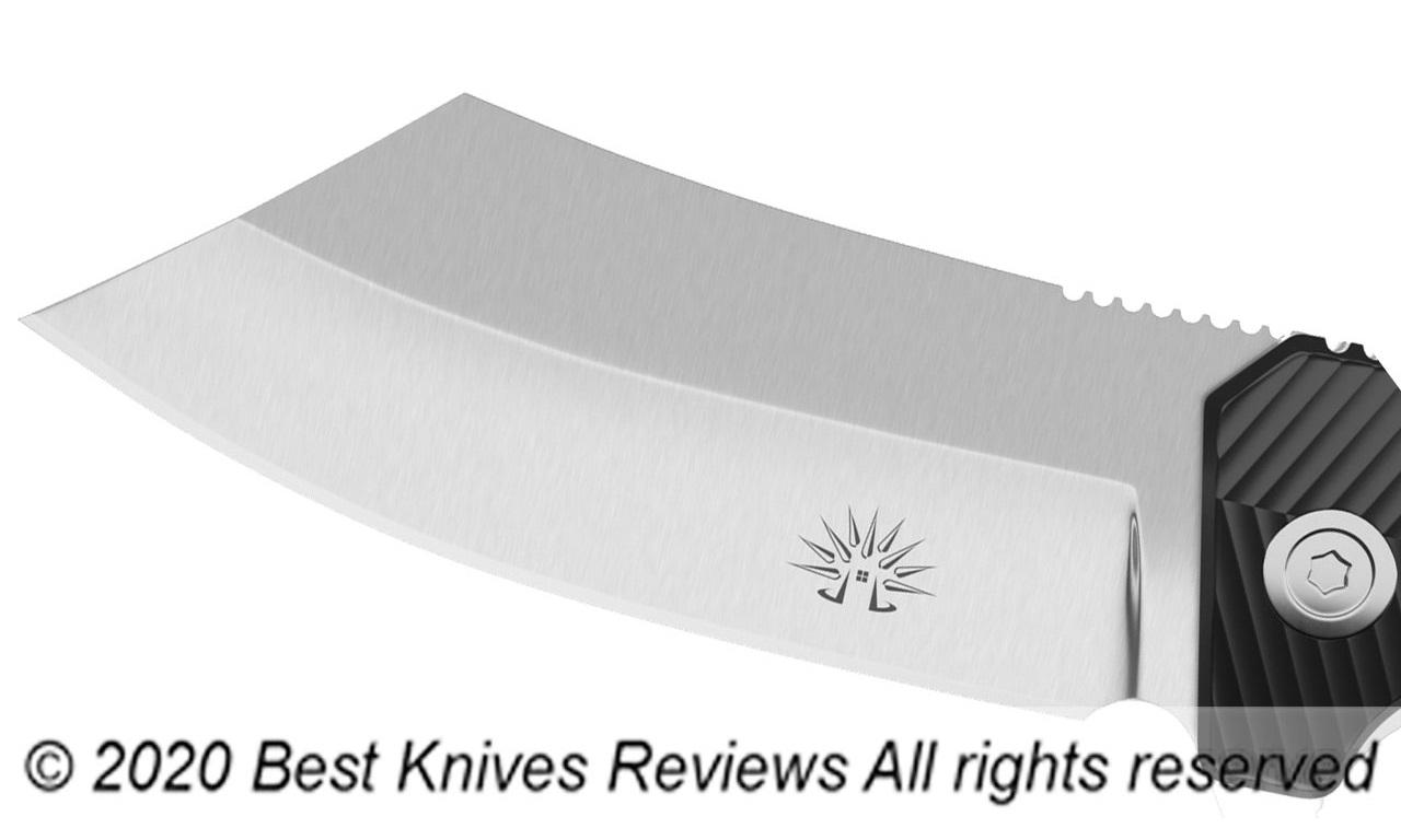 A Reverse Tanto knife