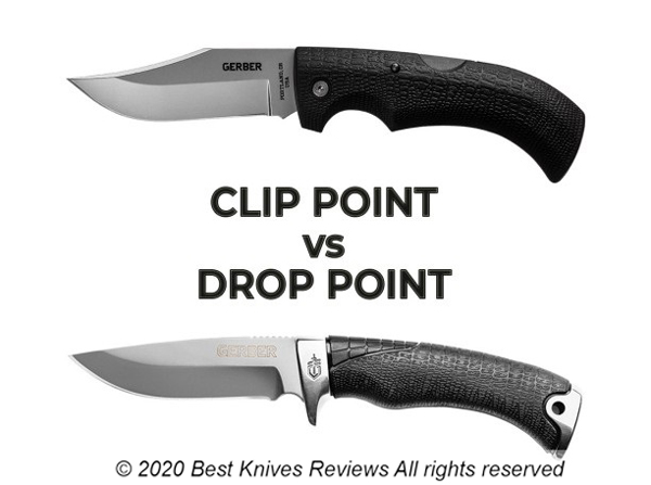 Clip point Knife Vs Drop Point Knife