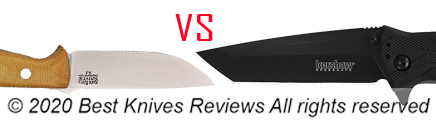 Drop Point Knives Versus Tanto Knife