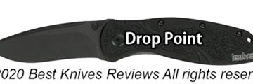 drop point knife, drop point blade