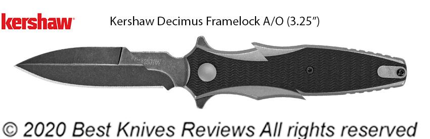 Kershaw Decimus Framelock, KS1559X