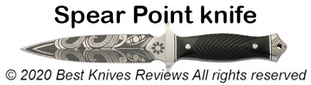 Spear Point Knife, spear point blade, what is spear point knife