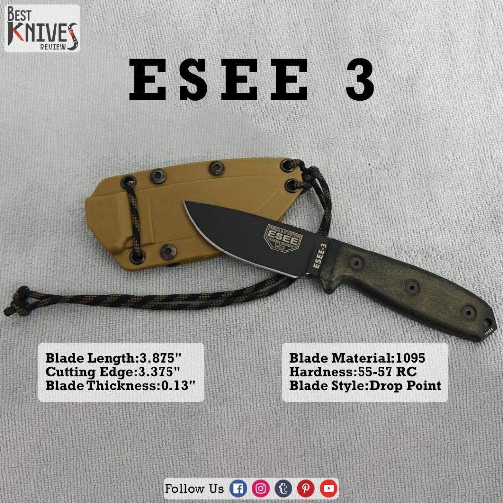 esee 3, esee 3 review, esee model 3